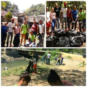 """CCC La Puya- Santo Domingo. """"Voluntarios del proyecto Calasanz Nos Une realiza jornada de limpieza en su comunidad."""