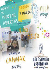 Jornada de puertas abiertas: 9 de marzo