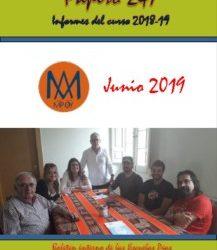 PAPIRO DE INFORMES 2018-2019