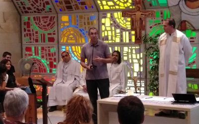 Fiesta de las vocaciones en la Comunidad Cristiana Escolapia de Vitoria-Gasteiz