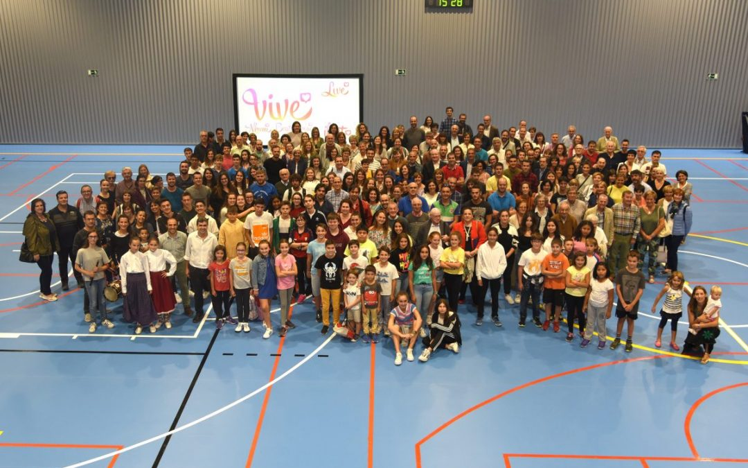 125 años de Presencia escolapia en Pamplona- Iruña. Inauguración del Polideportivo del colegio Calasanz.