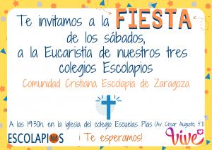 Eucaristía Comunidad Cristiana Escolapia>ZARAGOZA