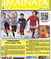 Revista IMAINAYA de principio de curso