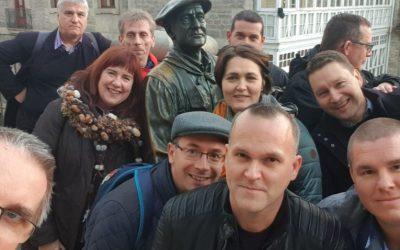 Visita pedagógica a Emaús de los escolapios de Hungría