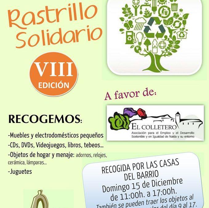 Campaña de Navidad. VIII Edición del Rastrillo Solidario.