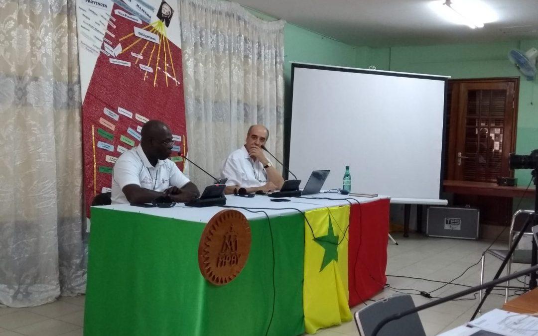 Encuentro SSMM en Dakar, Senegal.