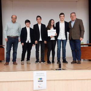 Los alumnos de Secundaria ganan la fase provincial de la «Liga Debate»>SORIA