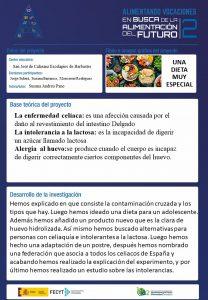"""GANADORES CONCURSO """"ALIMENTANDO VOCACIONES II"""" CATEGORÍA II DE ARAGÓN"""