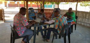 Reunión de equipo de Itaka-Escolapios Mozambique