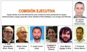 ROSTROS DE ITAKA – ESCOLAPIOS: LA COMISIÓN EJECUTIVA
