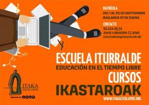 CURSOS DE EDUCACIÓN EN EL TIEMPO LIBRE EN BILBAO (CURSO 2020-21)