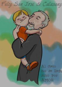 Feliz día de san José de Calasanz