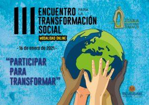III ENCUENTRO POR LA TRANSFORMACIÓN SOCIAL DE ITAKA-ESCOLAPIOS EMAÚS.