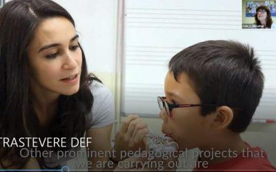 PREMIO TRASTÉVERE DE APRENDIZAJE Y SERVICIO con los colegios escolapios en Europa.