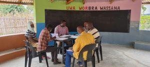 Reunión de sede en Mozambique