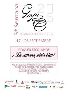 Semana de Goya en Zaragoza