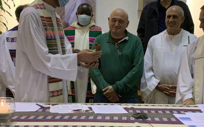 25 aniversario de las comunidades de Lurberri. Promesa definitiva de Roberto Zabalza, renovación ministerial Fran Beunza, y pasos a la Fraternidad.